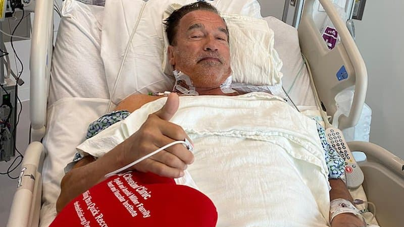 Arnold Schwarzenegger révèle avoir été à nouveau opéré du coeur et rassure ses fans