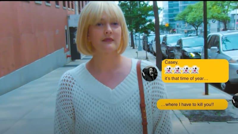 Scream: Drew Barrymore reprend le rôle de Casey dans une parodie hilarante