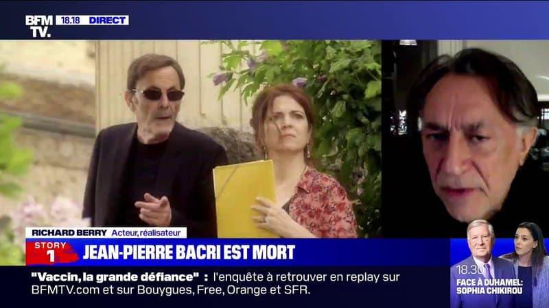 """Mort de Jean-Pierre Bacri: pour Richard Berry, """"on perd un immense acteur et un immense auteur"""""""
