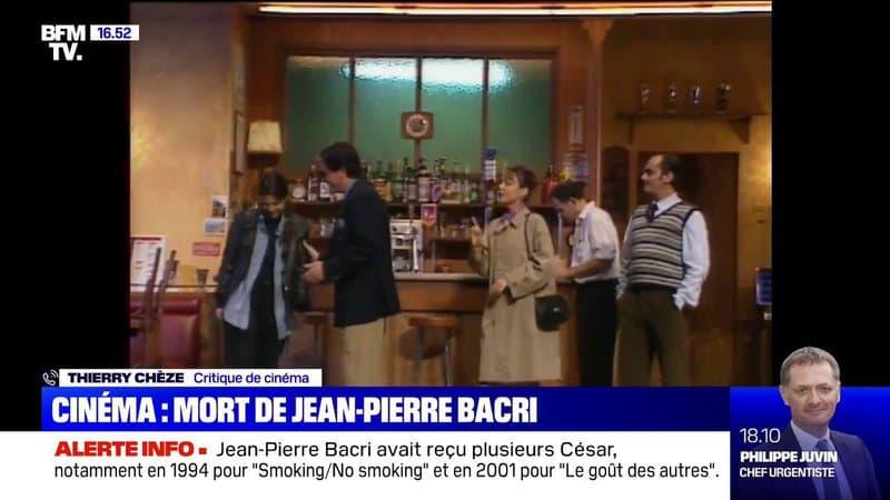 """Pour le journaliste critique de cinéma Thierry Chèze, Jean-Pierre Bacri était """"un bougon au grand cœur"""""""