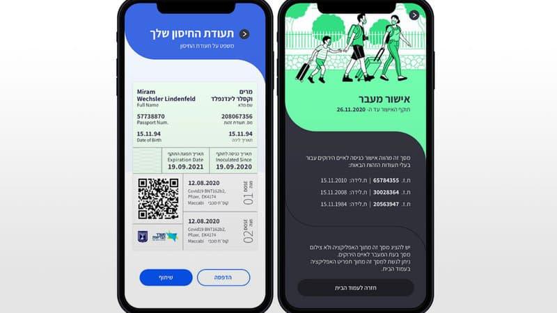 Passeport sanitaire: comment fonctionne l'application israélienne qui pourrait inspirer la France