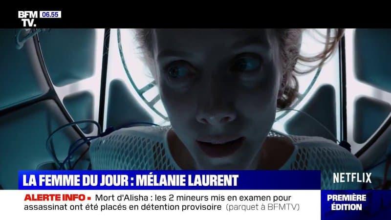 """Découvrez les images d'""""Oxygène"""", le prochain film d'Alexandre Aja avec Mélanie Laurent"""
