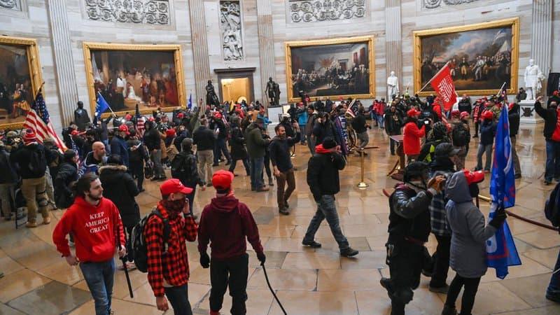 L'invasion du Capitole par des supporters de Donald Trump bientôt adaptée en série