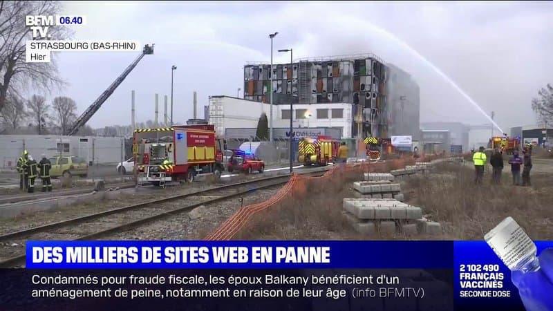 Pourquoi l'incendie d'OVHcloud à Strasbourg est un coup dur pour ce fleuron de la tech française ?