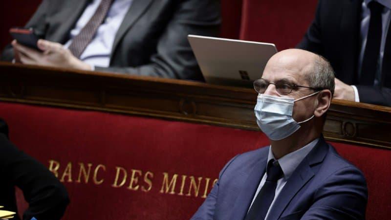 Le-ministre-de-l-Education-Jean-Michel-Blanquer-le-1er-avril-2021-a-Paris-1000631