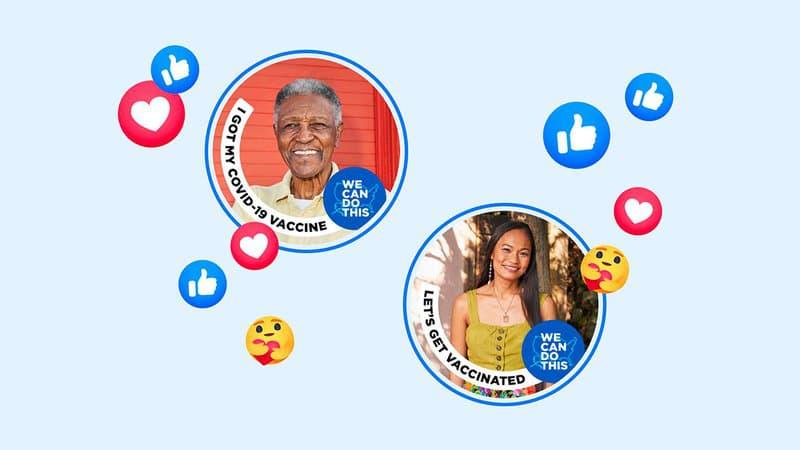 Facebook va mettre en avant vos proches vaccinés sur votre fil d'actualité
