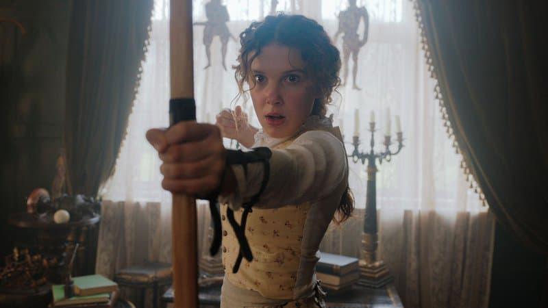 """Netflix annonce une suite d'""""Enola Holmes"""" avec Millie Bobby Brown et Henry Cavill"""