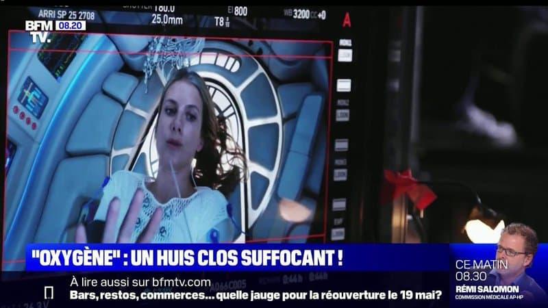 """""""Oxygène"""", le film de science-fiction français, sort sur Netflix"""