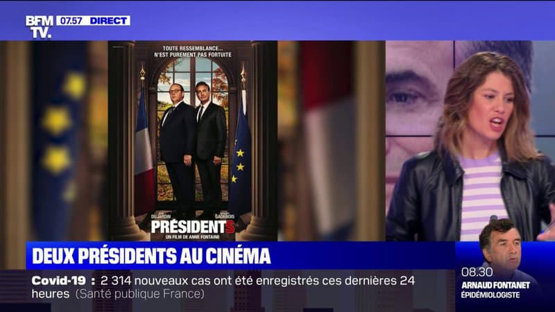 """Dans """"Présidents"""", Grégory Gadebois et Jean Dujardin sont François et Nicolas"""