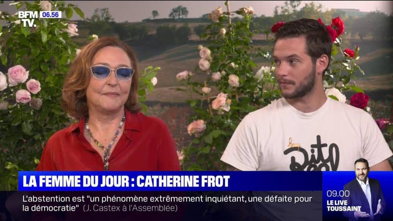 """Pour son retour au cinéma, Catherine Frot devient créatrice de roses dans """"La Fine Fleur"""""""