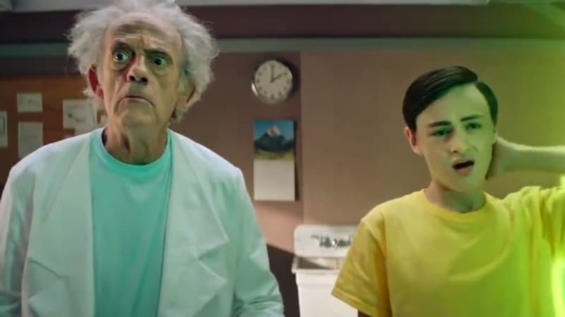 """Christopher Lloyd, alias Doc de """"Retour vers le Futur"""", fait une apparition surprise dans """"Rick & Morty"""""""