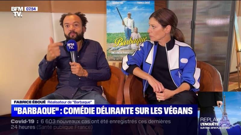 """Fabrice Eboué revient sur """"Barbaque"""", sa nouvelle comédie délirante sur les végans, en salle ce mercredi"""