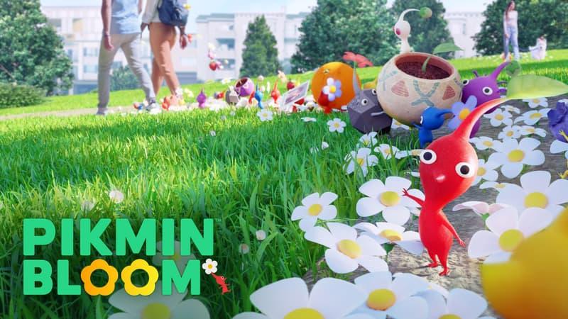 """Après """"Pokémon Go"""", Niantic et Nintendo lancent un nouveau jeu mobile, """"Pikmin Bloom"""""""
